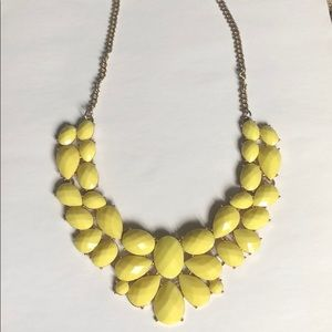 Francesca's yellow necklace.